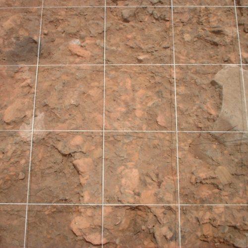 Baselice (Bn) - Sop. Archeologia Benevento - Piano di intonaco neolitico