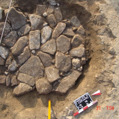 Baselice (Bn) - Comunità Montana del Fortore - Struttura di combustione Neolitica