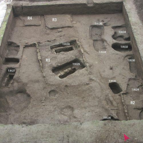 Pontecagnano (Sa) - Comune - Tombe a fossa - Età classica