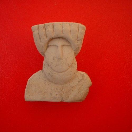 Baselice (Bn) - Sop. Archeologia Benevento - Statuina neolitica